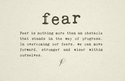 Fear Quotes Beauteous 73 Fear Quotes To Help You Overcome Fear